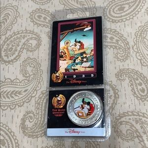 Disney Decades The Band Concert Coin #31